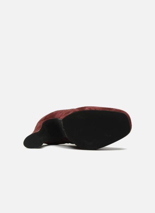 Bottines et boots Georgia Rose Nuts Bordeaux vue haut