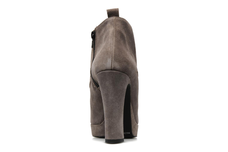 Bottines et boots Georgia Rose Nuts Gris vue droite