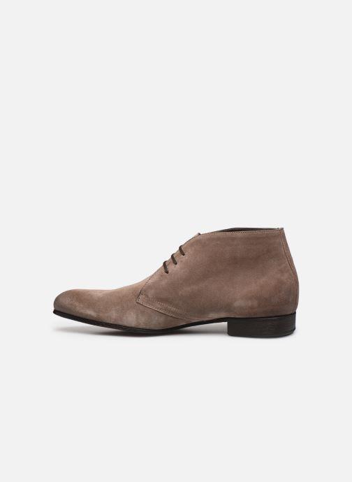 Chaussures à lacets Marvin&Co Pelouse Beige vue face
