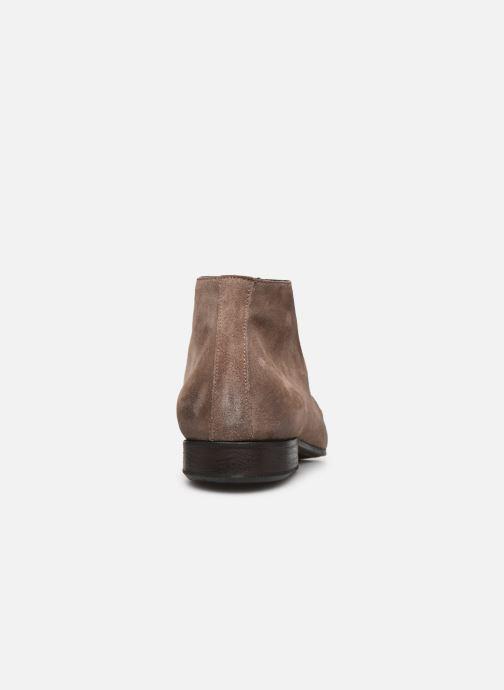 Zapatos con cordones Marvin&Co Pelouse Beige vista lateral derecha