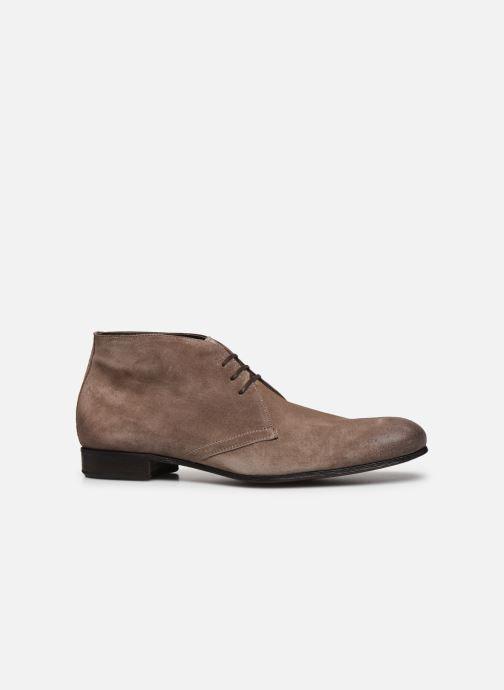 Chaussures à lacets Marvin&Co Pelouse Beige vue derrière