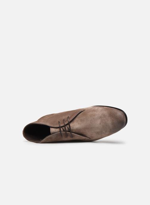 Snörade skor Marvin&Co Pelouse Beige bild från vänster sidan