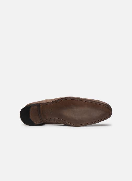 Schnürschuhe Marvin&Co Pelouse beige ansicht von oben