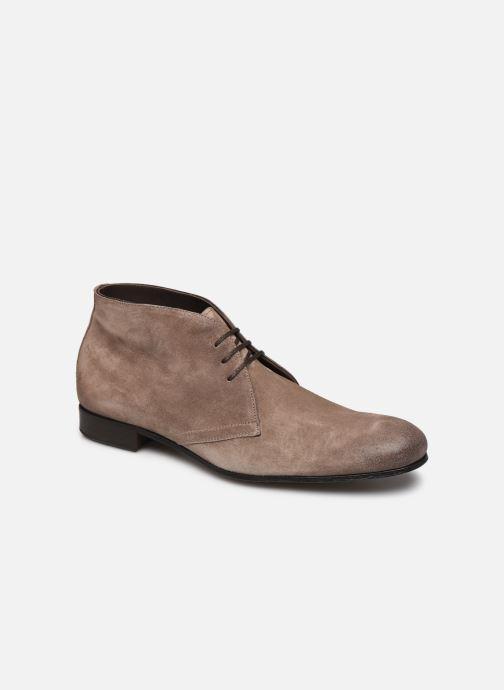 Zapatos con cordones Marvin&Co Pelouse Beige vista de detalle / par