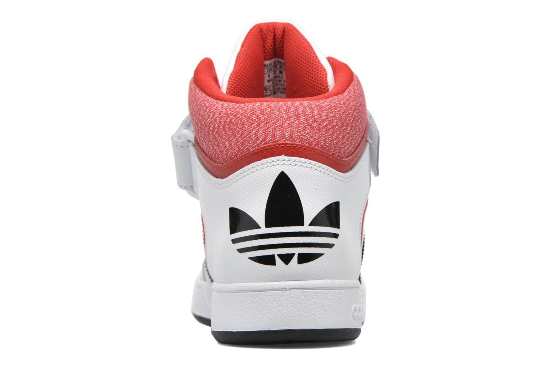 Baskets Adidas Originals Varial Mid Blanc vue droite