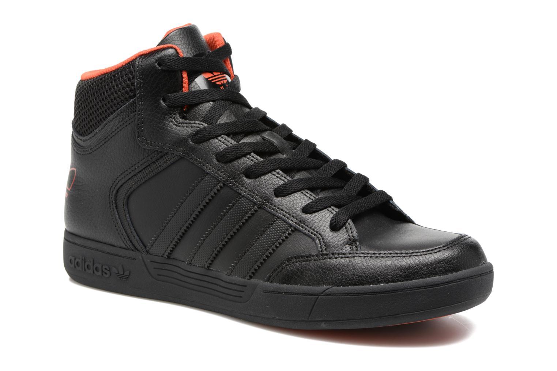 Baskets Adidas Originals Varial Mid Noir vue détail/paire