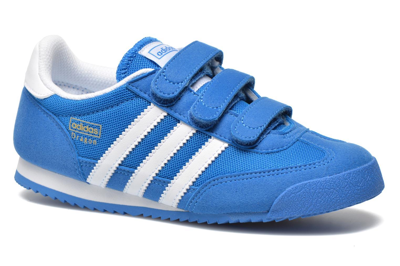 buy popular 90e21 bbadd Baskets Adidas Originals Dragon Cf C Bleu vue détailpaire