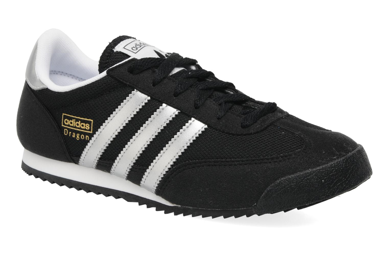 superior quality e7448 a80ef Baskets Adidas Originals Dragon J Noir vue détailpaire