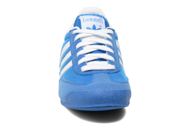 Trainers Adidas Originals Dragon J Blue model view