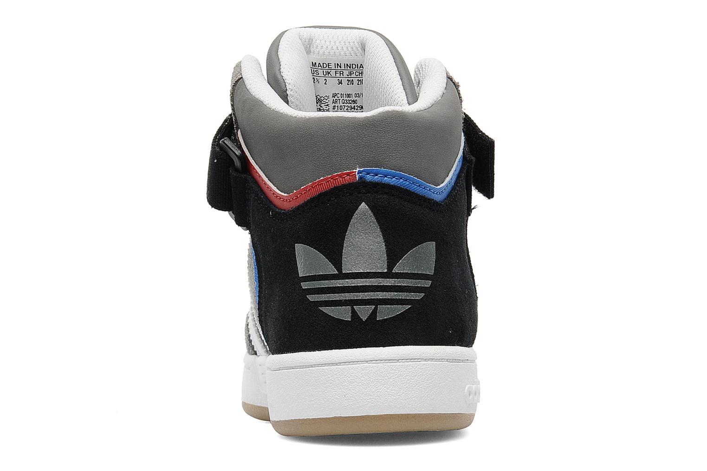 Baskets Adidas Originals Varial Mid J Gris vue droite