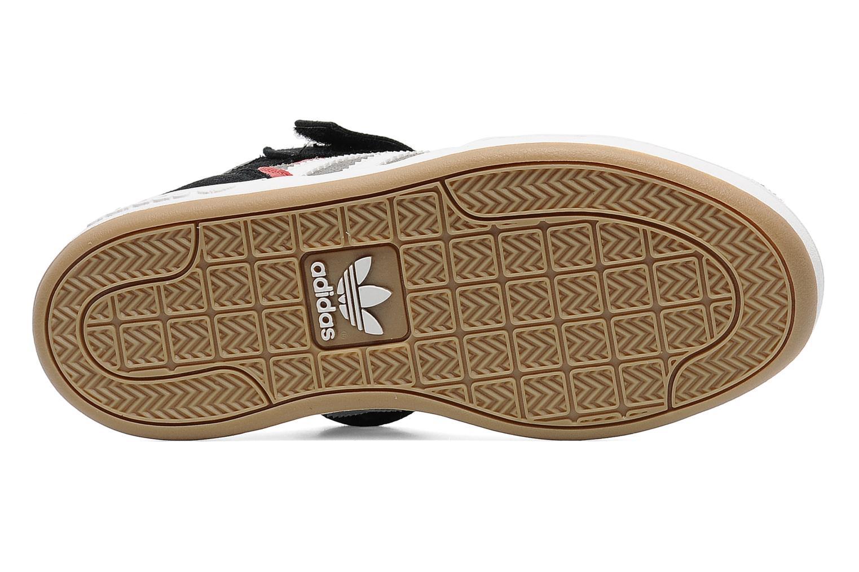 Baskets Adidas Originals Varial Mid J Gris vue haut