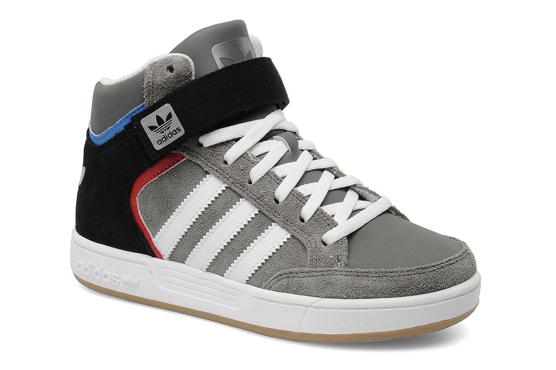 Baskets Adidas Originals Varial Mid J Gris vue détail/paire
