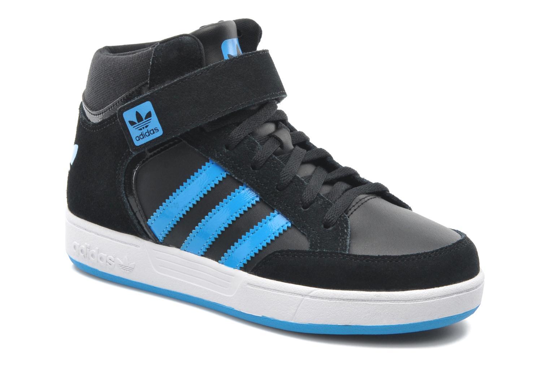 newest 7a4c3 bbd9b Baskets Adidas Originals Varial Mid J Noir vue détail paire