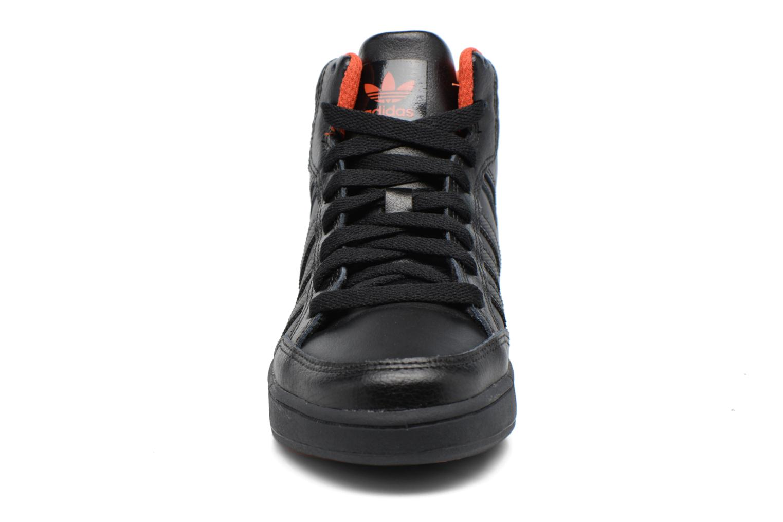 Sneaker Adidas Originals Varial Mid J schwarz schuhe getragen