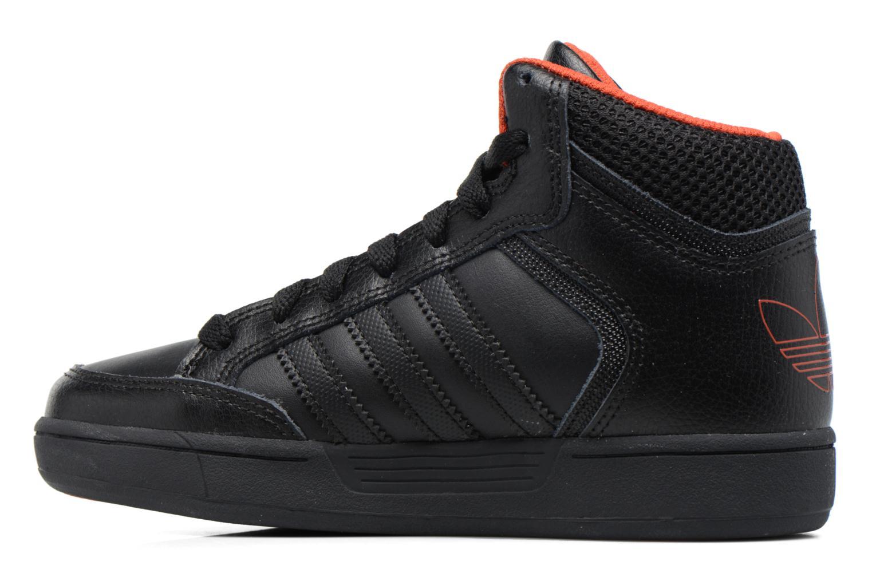 Sneaker Adidas Originals Varial Mid J schwarz ansicht von vorne
