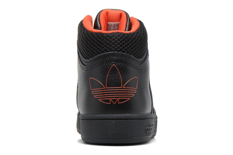 Sneaker Adidas Originals Varial Mid J schwarz ansicht von rechts