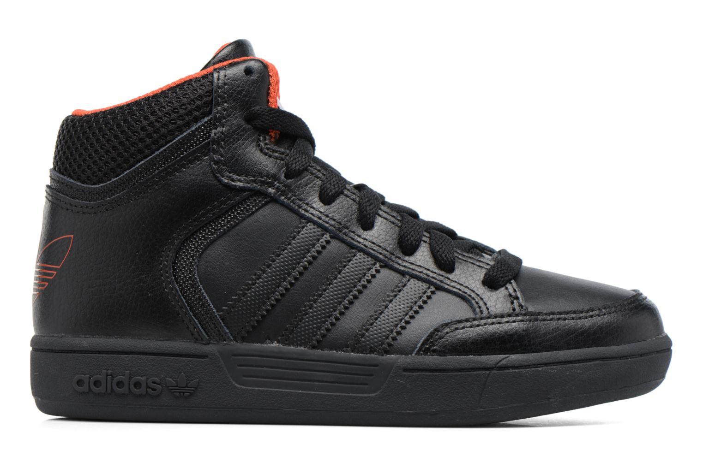 Sneaker Adidas Originals Varial Mid J schwarz ansicht von hinten