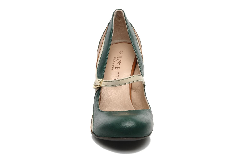 Escarpins Paul & Betty Frasal Jane Multicolore vue portées chaussures