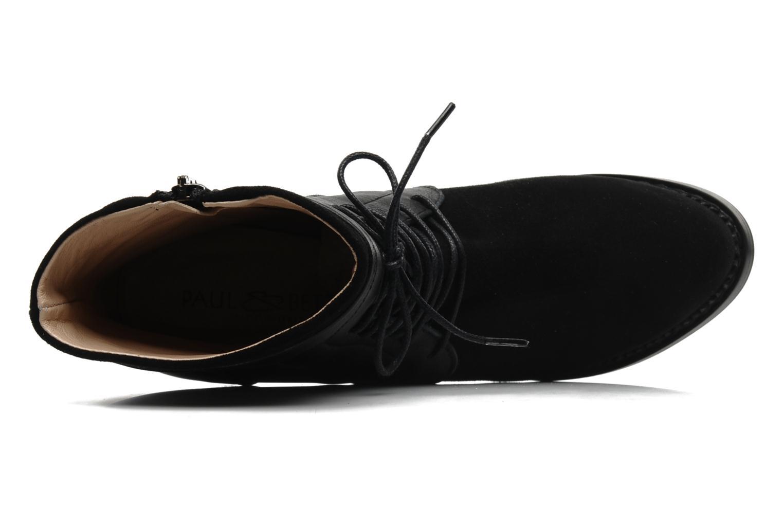 Bottines et boots Paul & Betty Jenny Lace Noir vue gauche