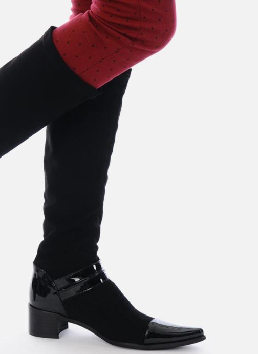 Boots & wellies JB MARTIN Boheme Black view from underneath / model view