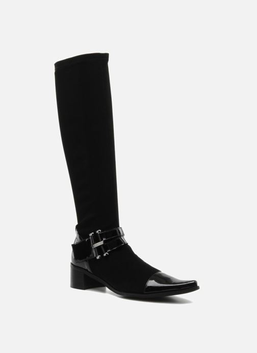Støvler & gummistøvler JB MARTIN Boheme Sort detaljeret billede af skoene