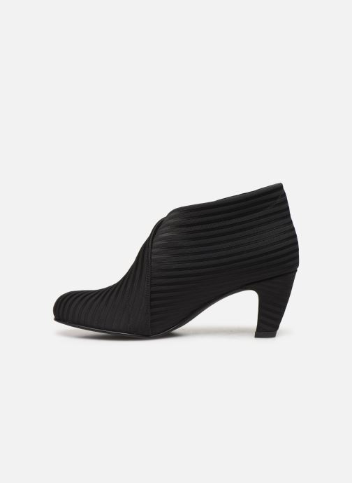 Boots en enkellaarsjes United Nude Fold Mid Zwart voorkant