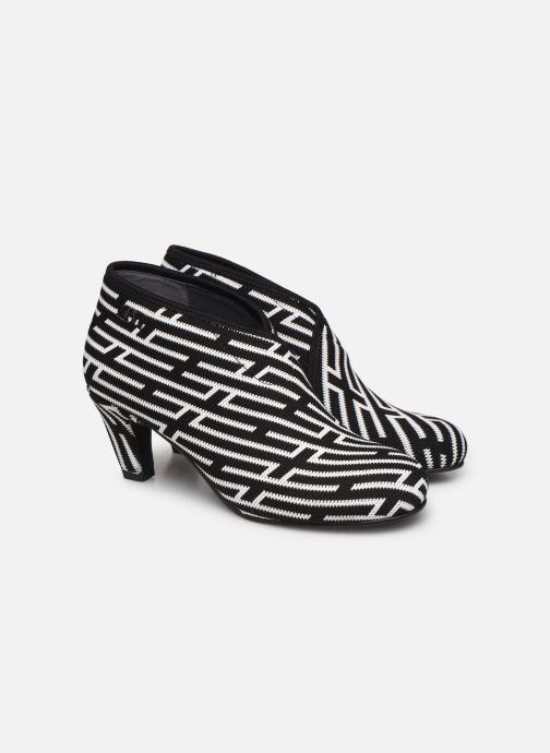Bottines et boots United Nude Fold Mid Noir vue 3/4