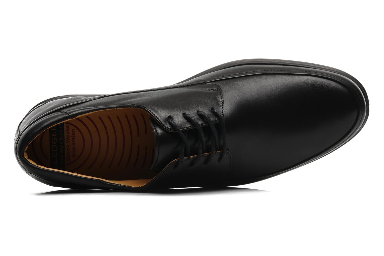 Chaussures à lacets Sledgers Joke Noir vue gauche