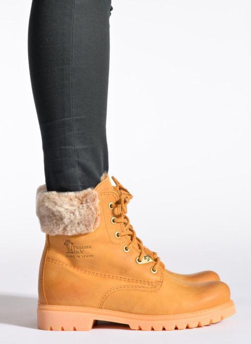Bottines et boots Panama Jack Felicia Marron vue bas / vue portée sac