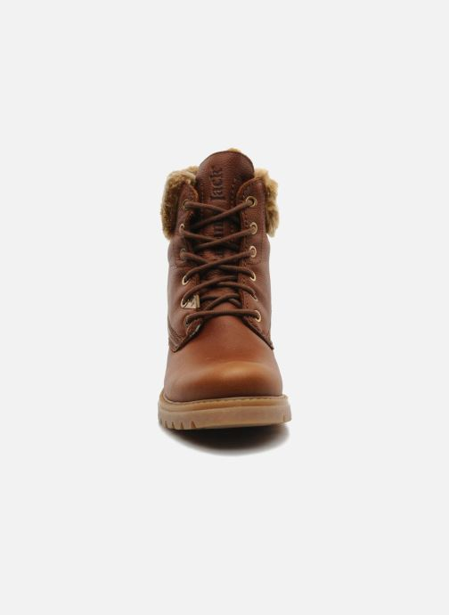 Bottines et boots Panama Jack Felicia Marron vue portées chaussures