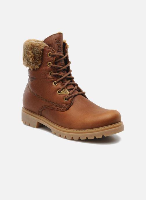 Boots en enkellaarsjes Panama Jack Felicia Bruin detail