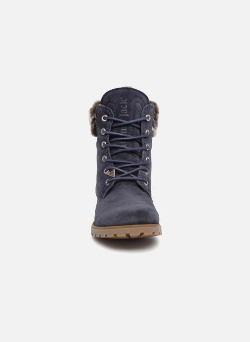Bottines et boots Panama Jack Felicia Bleu vue portées chaussures