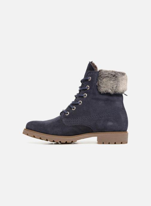 Bottines et boots Panama Jack Felicia Bleu vue face