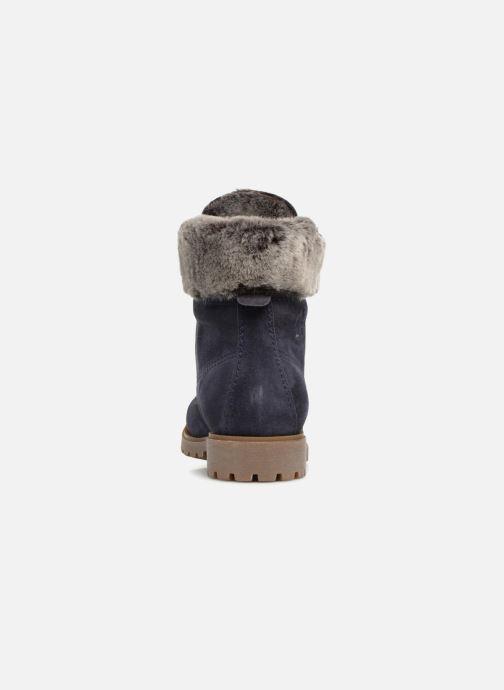 Bottines et boots Panama Jack Felicia Bleu vue droite