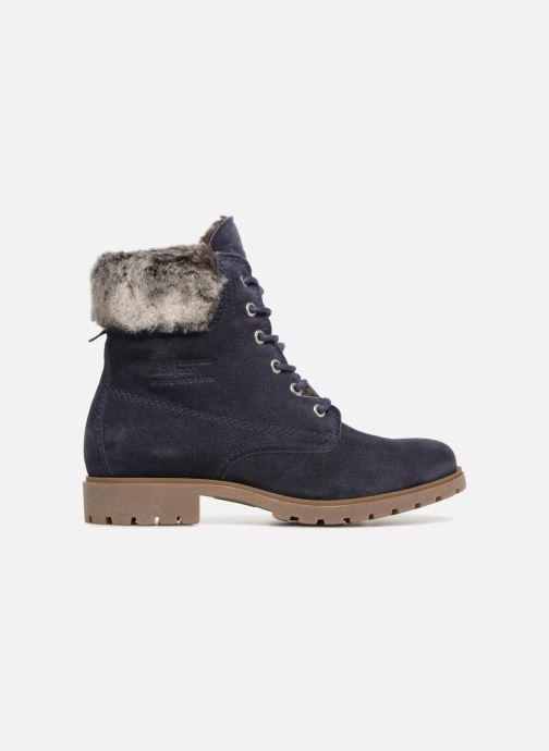Bottines et boots Panama Jack Felicia Bleu vue derrière
