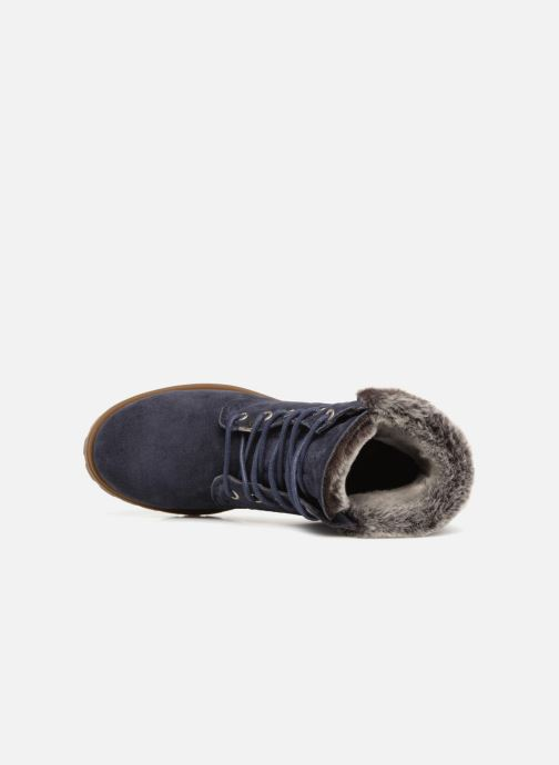 Bottines et boots Panama Jack Felicia Bleu vue gauche