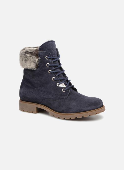 Bottines et boots Panama Jack Felicia Bleu vue détail/paire