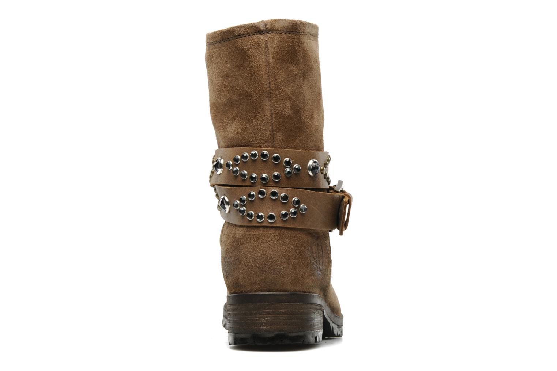 Stiefeletten & Boots Folk'l Olexa braun ansicht von rechts