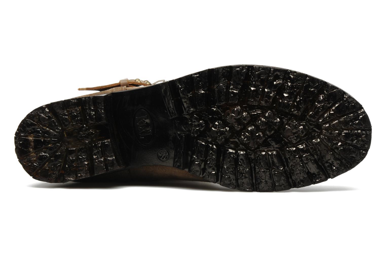 Stiefeletten & Boots Folk'l Olexa braun ansicht von oben