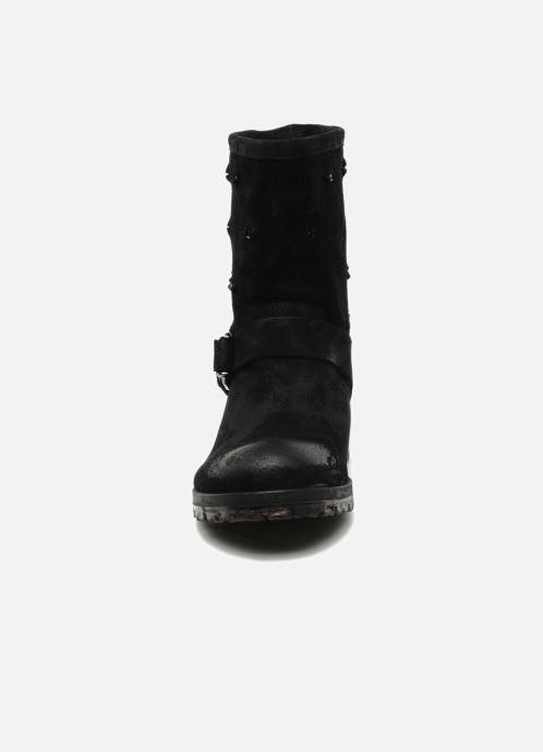 Stiefeletten & Boots Folk'l Rachell grau schuhe getragen