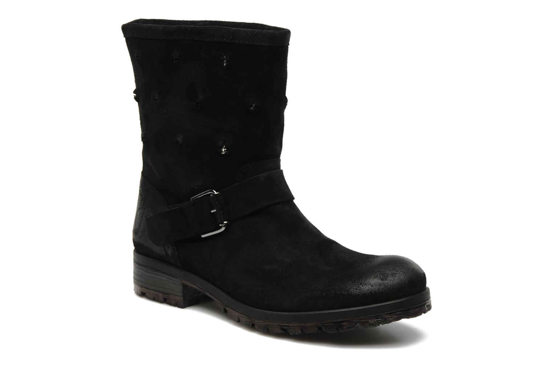 Boots en enkellaarsjes Folk'l Rachell Grijs detail