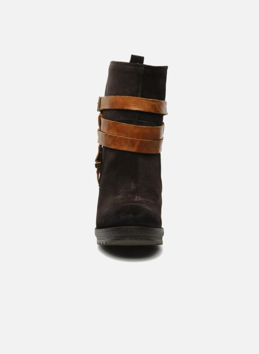 Stiefeletten & Boots Folk'l Danya braun schuhe getragen