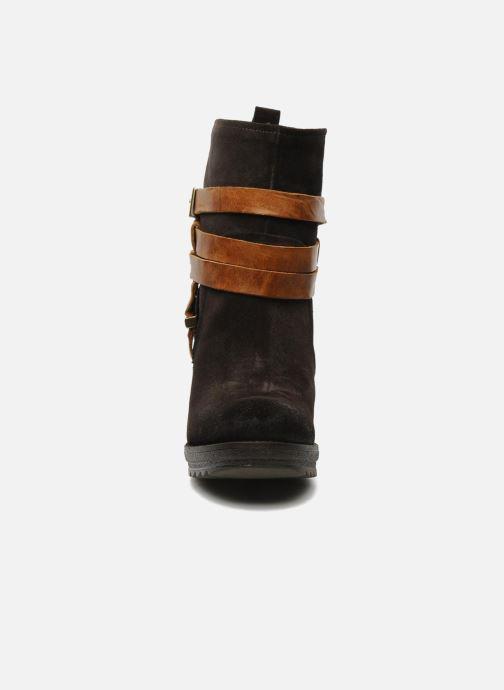 Ankle boots Folk'l Danya Brown model view