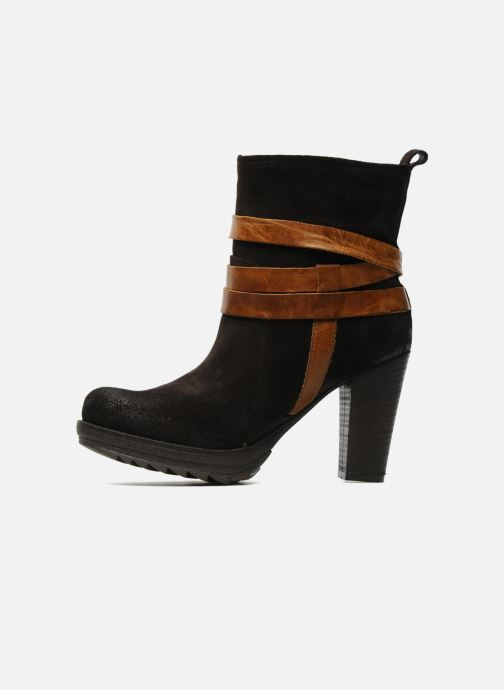 Bottines et boots Folk'l Danya Marron vue face