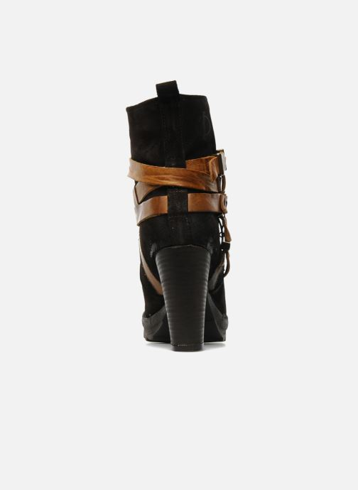 Ankle boots Folk'l Danya Brown view from the right