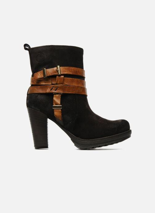 Bottines et boots Folk'l Danya Marron vue derrière