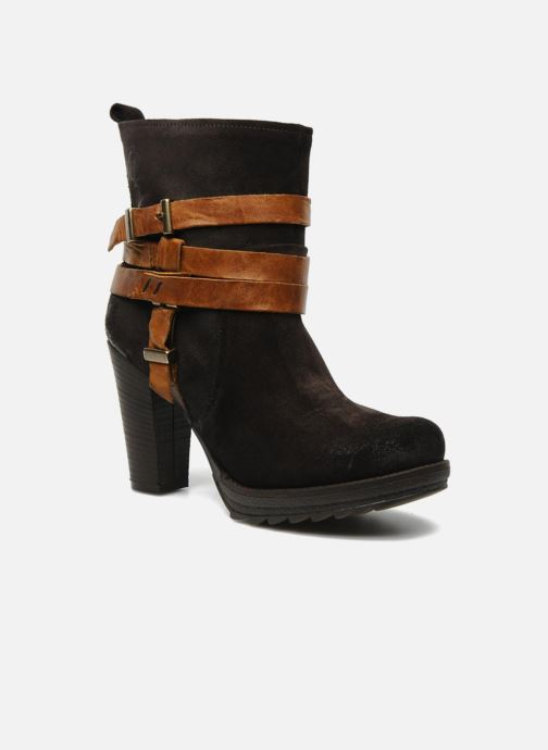 Ankle boots Folk'l Danya Brown detailed view/ Pair view