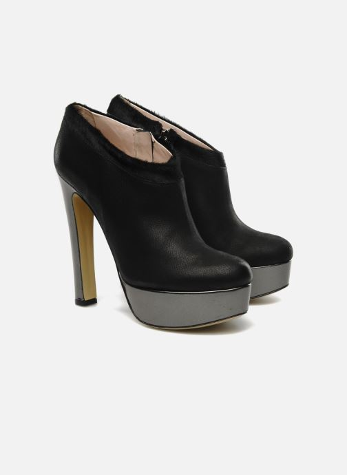 Boots en enkellaarsjes De Siena shoes Amalia Zwart 3/4'