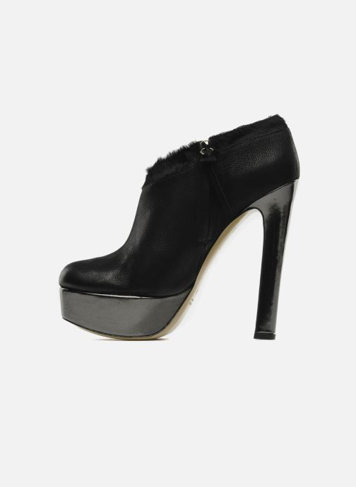 Ankelstøvler De Siena shoes Amalia Sort se forfra