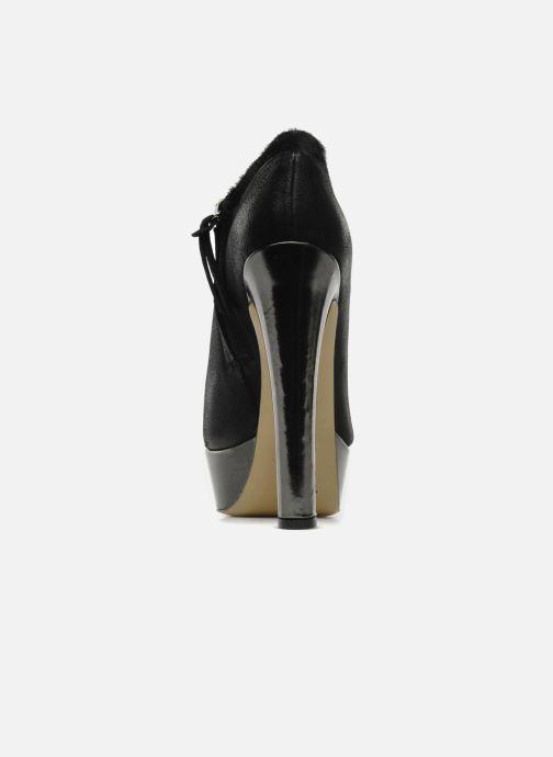 Stivaletti e tronchetti De Siena shoes Amalia Nero immagine destra